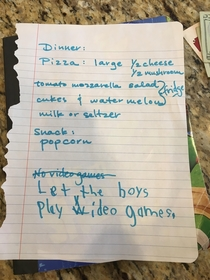 No Video Games - My sisters  year old twins had different plans for when Grandma came over to babysit them