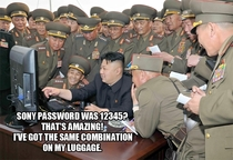 North Korea caught cracking Sonys password