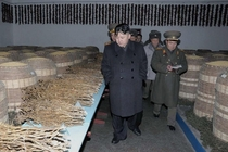 North Korea is in the planning stages of putting together a North Korean Reddit to rival our own Here is Kim-Jong Un inspecting potential OPs