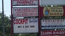 Not a gay bar