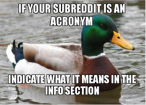 Not everyone is educated in Advanced Redditology