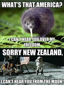 Now that us Americans are awakesorry whats that New Zealand