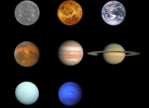 Now that we have high-res pictures of Pluto heres finally a picture of all planets in our solar system
