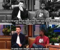 NSync needed a black guy