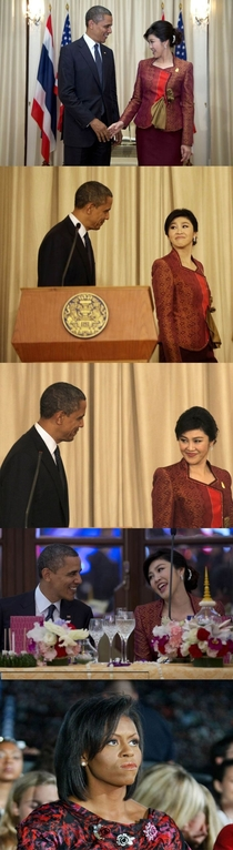 Obama and Thailands prime minister