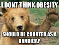 Obesity Opinion Bear