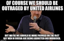 Of course what United Airlines did was unacceptable but maybe