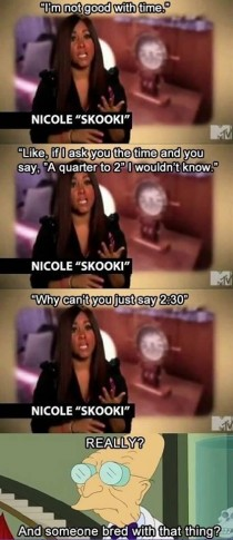 Oh god Snooki and her problems not sure if repost