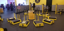 Oh look planet fitness made a shrine to worship people who use TikTok