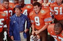 On this date in  Bobby Boucher showed up at halftime and the Mud Dogs won the Bourbon Bowl