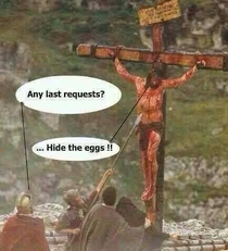 On this solemn Good Friday I think we should truly honor Jesus dying wishes