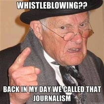 On Whistleblowing