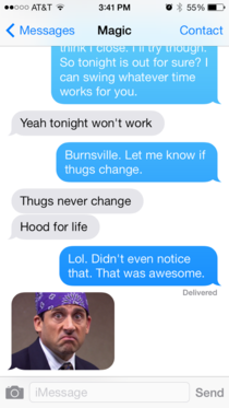 One Gangsta Autocorrect