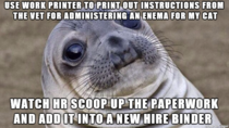 One new hire is going to have an interesting orientation