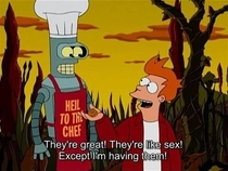 One of my favourite lines from Futurama