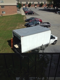 One of my neighbors got a big package delivered this morning