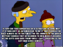 One of the best Mr Burns quotes