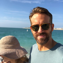 One of the photos Ryan Reynolds posted wishing his wife a happy birthday