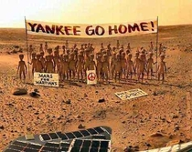 One of the Rarer Photographs Captured by the Mars Rover