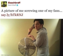 One of the reasons i love Zach Braff