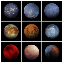 One of these is Jupiters moon Europa the rest are frying pans