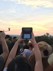 Only a MP camera can truly capture the beauty and the majesty of the beautiful sunset near Angkor Wat in Cambodia