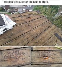 Only a roofer will truly appreciate this