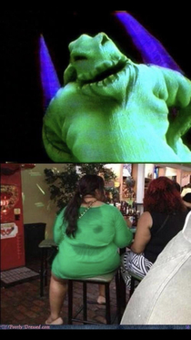 Oogie Boogie hasnt been getting the best gigs lately