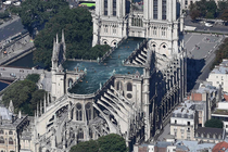 Open-air swimming pool proposal for Notre Dame Cathedral