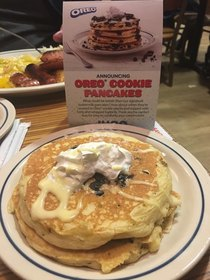 Oreo pancakes from iHop didnt live up to the images on the menu
