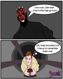Origin of the High Ground