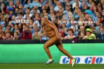 Origin streaker is really just a new Nike campaign