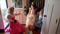 Our daughter pulled a knife on the hired princess at her rd birthday party