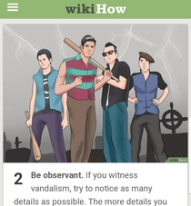 Our fence was recently graffitied so I was trying to researching how to go about reporting it to the city needless to say I think this WikiHow article will do the trick My moneys on the hooligan on the right in the French beret