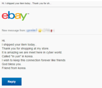 Overly attached eBay seller All I wanted was some headphones