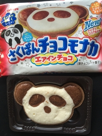 Panda wafer looked good and tasted great