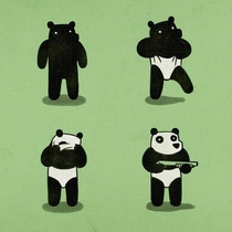 Pandas want you believe that all they are is cute and cuddly