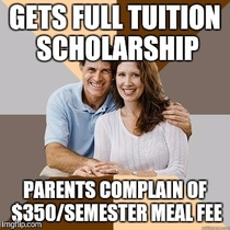 Parents agreed to pay for my college
