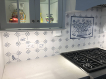 Parents remodeled their kitchen I had one request