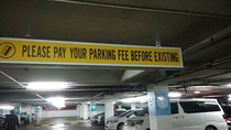 Parking fee just got real