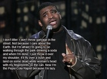 Patrice ONeal on littering