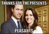People all over the world are sending William and Kate gifts as they anxiously await the birth of the royal child