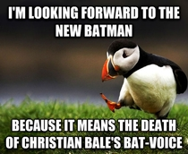 People arent happy about the new Batman but