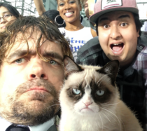 Peter Dinklage Took A Selfie With Me But Some Idiot Photobombed It