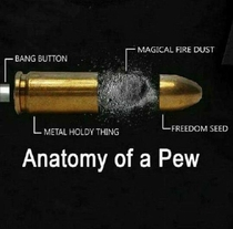 Pew pew Now you know
