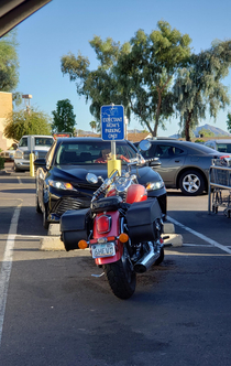 Phoenix Arizona- probably not safe to ride a motorcycle while pregnant