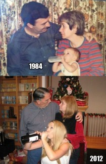 Photo recreation done right