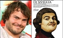 Pic #1 - a gallery of modern celebrities and their historic counterparts