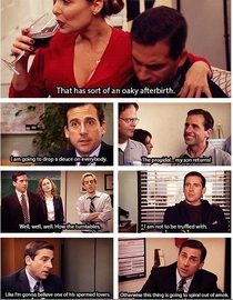 Pic #1 - A lesson in vocabulary by Michael Scott