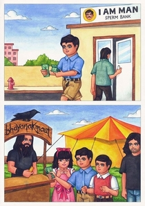 Pic #1 - Adarsh Balak ideal boy comics from India